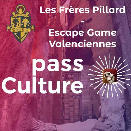 pass culture escape game pirate Les Frères Pillard
